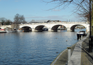 kingston bridge over thames